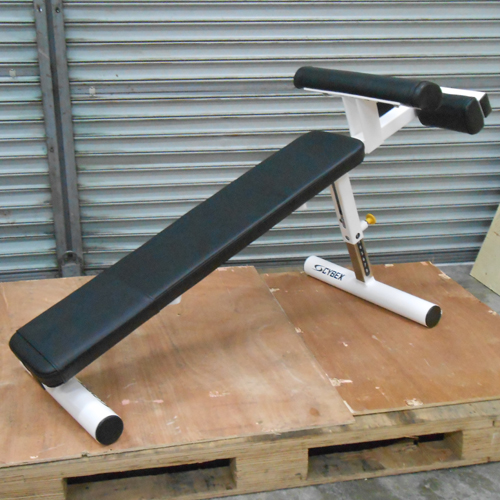 Cybex Adjustable Decline Bench Used Gym Equipment